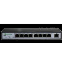 Коммутатор PoE-Link PL-981FA 96Вт | PoE Switch