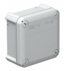 Коробка расключительная 114x114x57мм (с вводом)