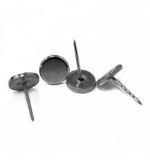 Гвоздь 16мм с металлической  шляпкой Metal Dome Pin