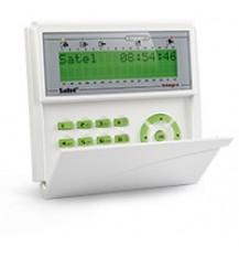 Клавиатура SATEL INT-KLCDK-GR ЖКИ для ППК INTEGRA и СА-64, 2х16 знаков, 2 доп. зоны