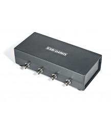 УЗВ-4М (Четырехканальное устройство защиты видеооборудования (мониторов, мультиплексоров и т.д.) от