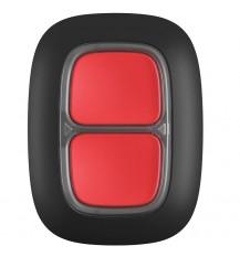 Ajax DoubleButton  (тревожная кнопка чёрная)