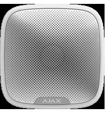 Ajax  беспроводная уличная сирена StreetSiren белая