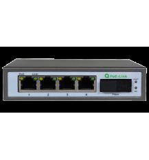 Коммутатор PoE-Link PL-541GS-FB 1550hm неуправляемый коммутатор с оптическим портом SC (WDM)