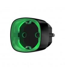 Ajax радиоуправляемая умная розетка со счетчиком энергопотребления черная