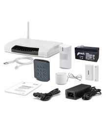 Комплект беспроводной сигнализации GSM сигнализация Ajax WGC-103 KIT + клавиатура